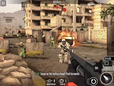 Sniper Strike Zone 3 Baghdad Boss 2 Kill Blaze 3 Stars