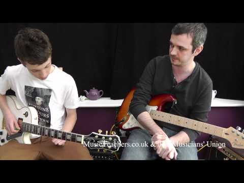Guitar Lesson: Paul Thornton: 4 Clap and Response