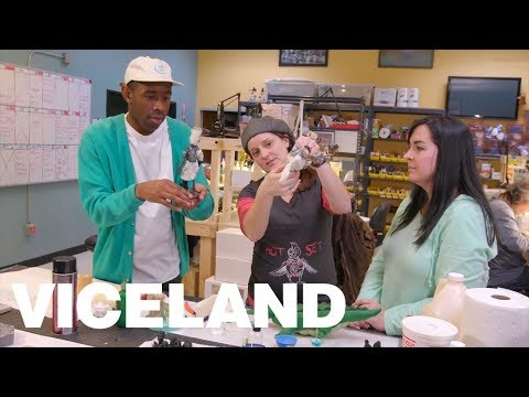 Tyler, the Creator Goes Behind the Scenes at Stoopid Buddy Stoodios