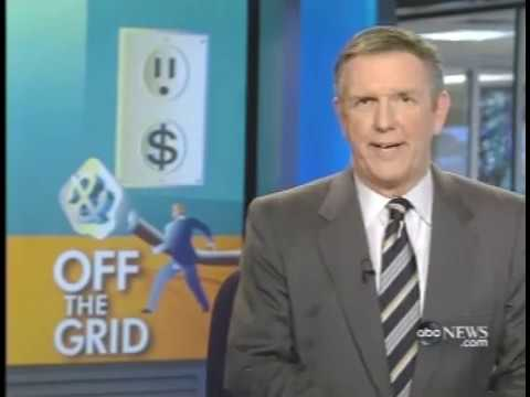 ABC News: Off the Grid with Solar Hydrogen in New Jersey 10/2008