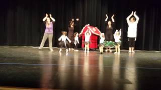 Snoopy Dance Olivia 12/20/2015