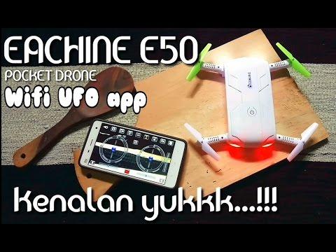 EACHINE E50 Unboxing + Wifi UFO app