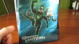 Green Lantern Movie Tie-in Bag