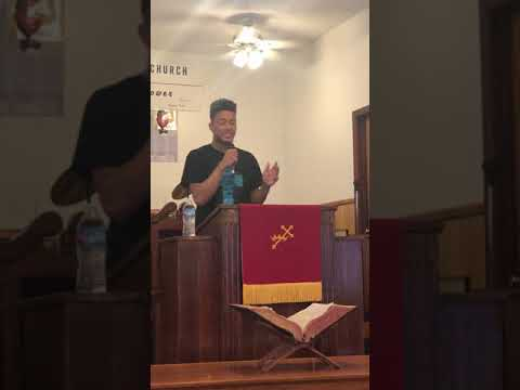 Christian Roberts: College Day Message at New Hampton Baptist Church