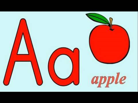 Alphabet song a is for