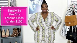 Plus Size Simply Be Winter Fashion Finds Under $100