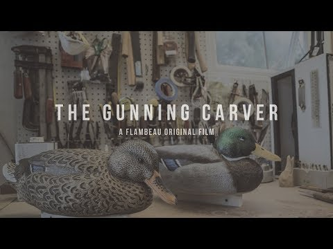 Decoy Carving - A Duck Hunting Story - Flambeau Gunning Series