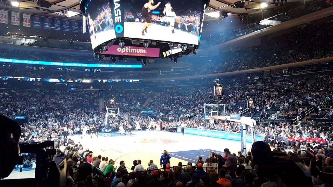New York Knicks Jump Ball @ Madison Square Garden