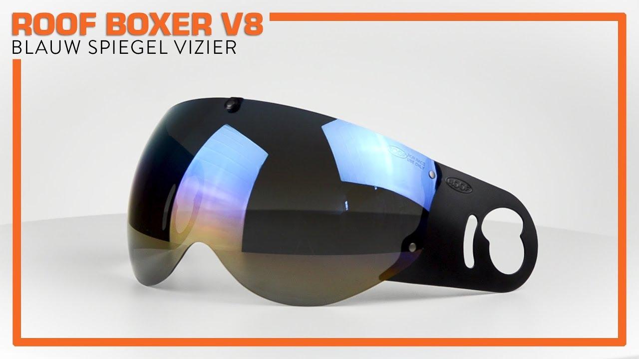 Roof Boxer V8 Blauw Spiegel Vizier Motorkledingstore Nl Youtube