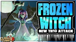 FROZEN WITCH | NEW TH10 Attack Strategy | Clash of Clans