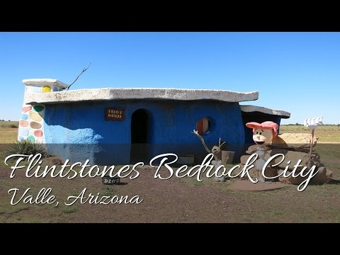 A Tour of Flintstones Bedrock City in Valle, Arizona