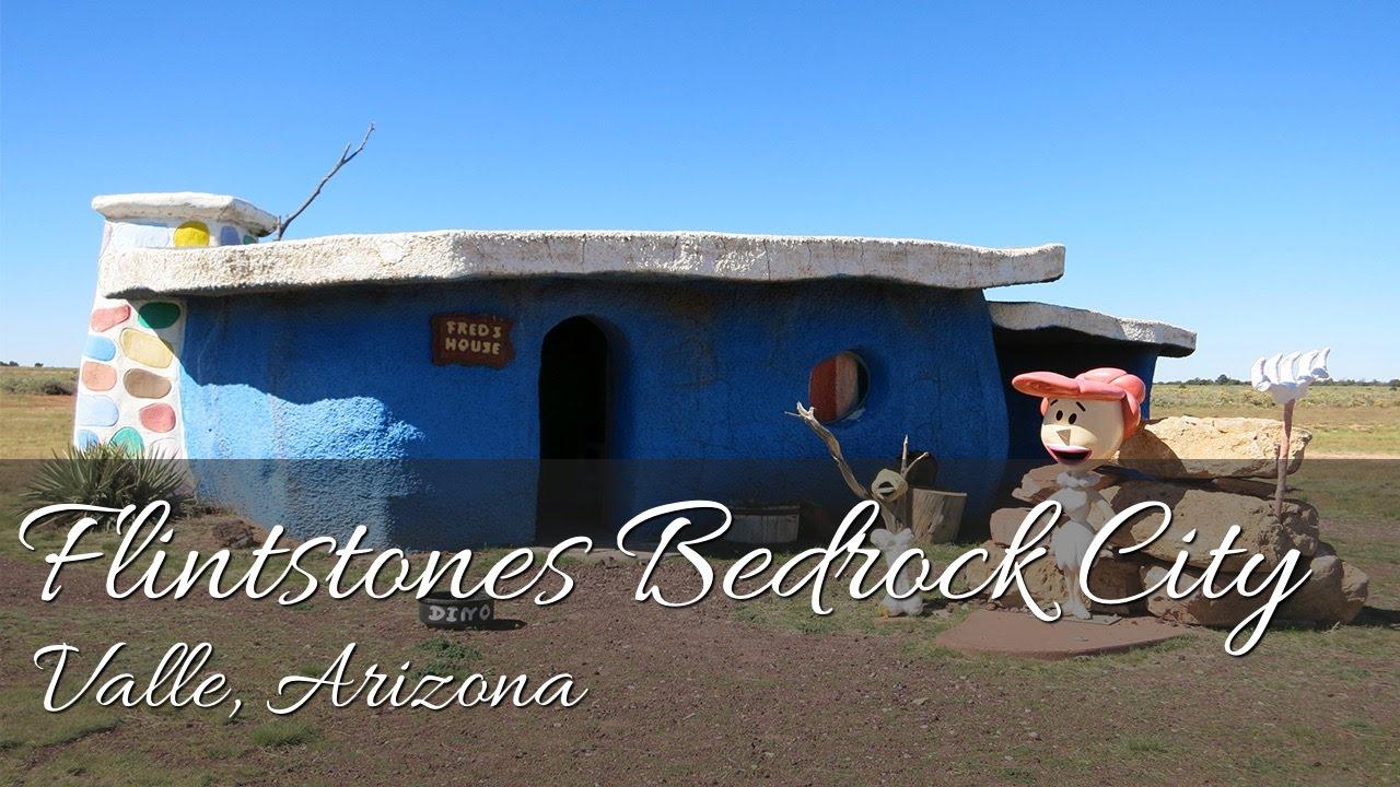 A Tour Of Flintstones Bedrock City Valle Arizona