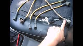 Автомобиль подтраивает, нестабильный хх. Проверка Высоковольтных проводов.