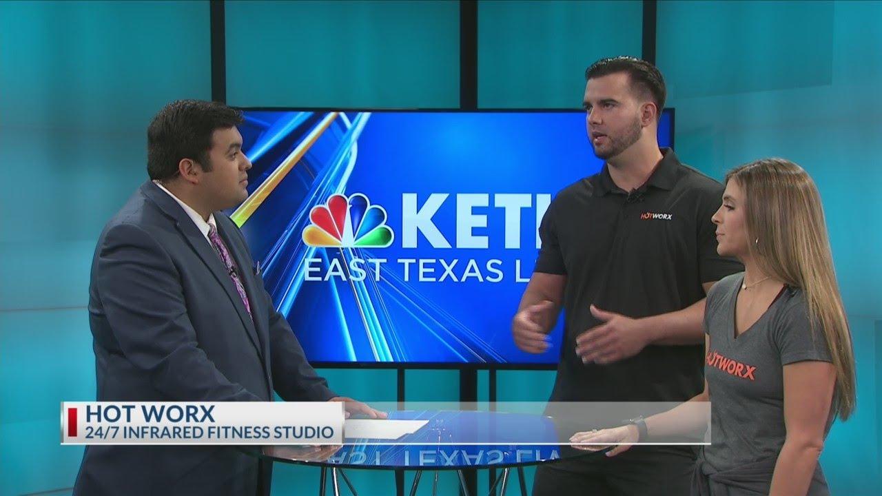 Hot Worx offers 24/7 infared fitness studio