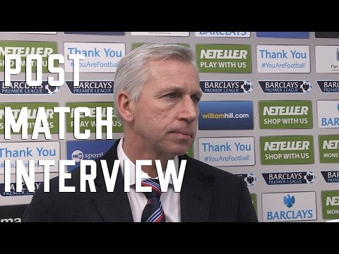 Alan Pardew post Newcastle Interview