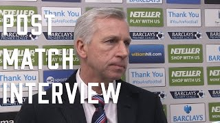 Alan Pardew post Newcastle Interview