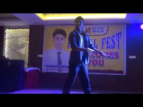 Neeraj Performance Video%&B2E Coder Annual Fest- Doob Ja - Hritik Roshan Song Just Dance -Dance Peku