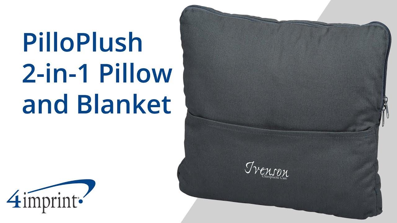 pilloplush 2 in 1 pillow and blanket custom blanket by 4imprint