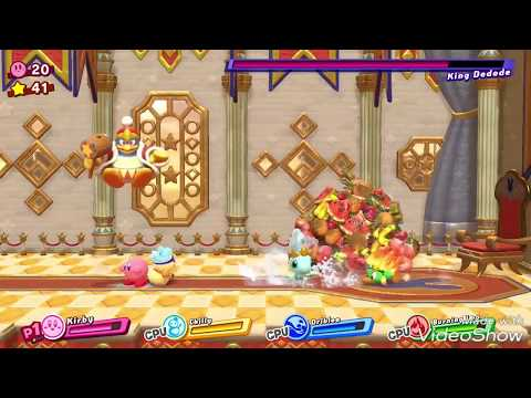 King Dedede boss Battle with Menacing Battle Royale (Macho Dedede) song