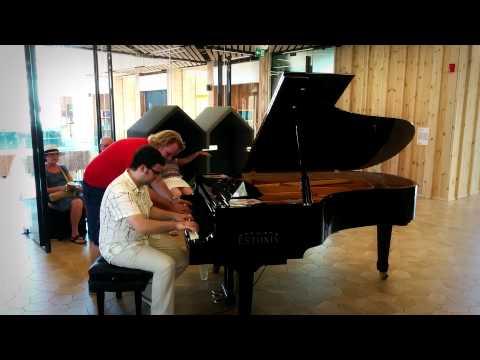 Expo 2015 - Silvan Zingg & Balazs Daniel On Estonia Piano