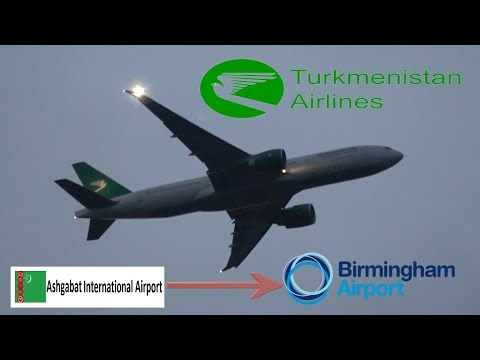 Turkmenistan Airlines Flight 419 (Ashgabat to BHX)