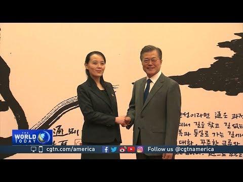 DPRK leader Kim invites ROK President Moon to visit Pyongyang