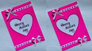 Cara Mudah Membuat Kartu Ucapan Selamat Hari Ibu Diy Mother S Day Greeting Cards Valentine Card Youtube