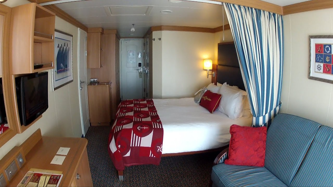 Disney Cruise Line Stateroom 9640 Room Tour On The Dream