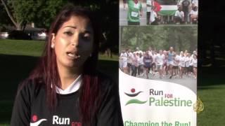 هذا الصباح- في كندا الركض من أجل فلسطين