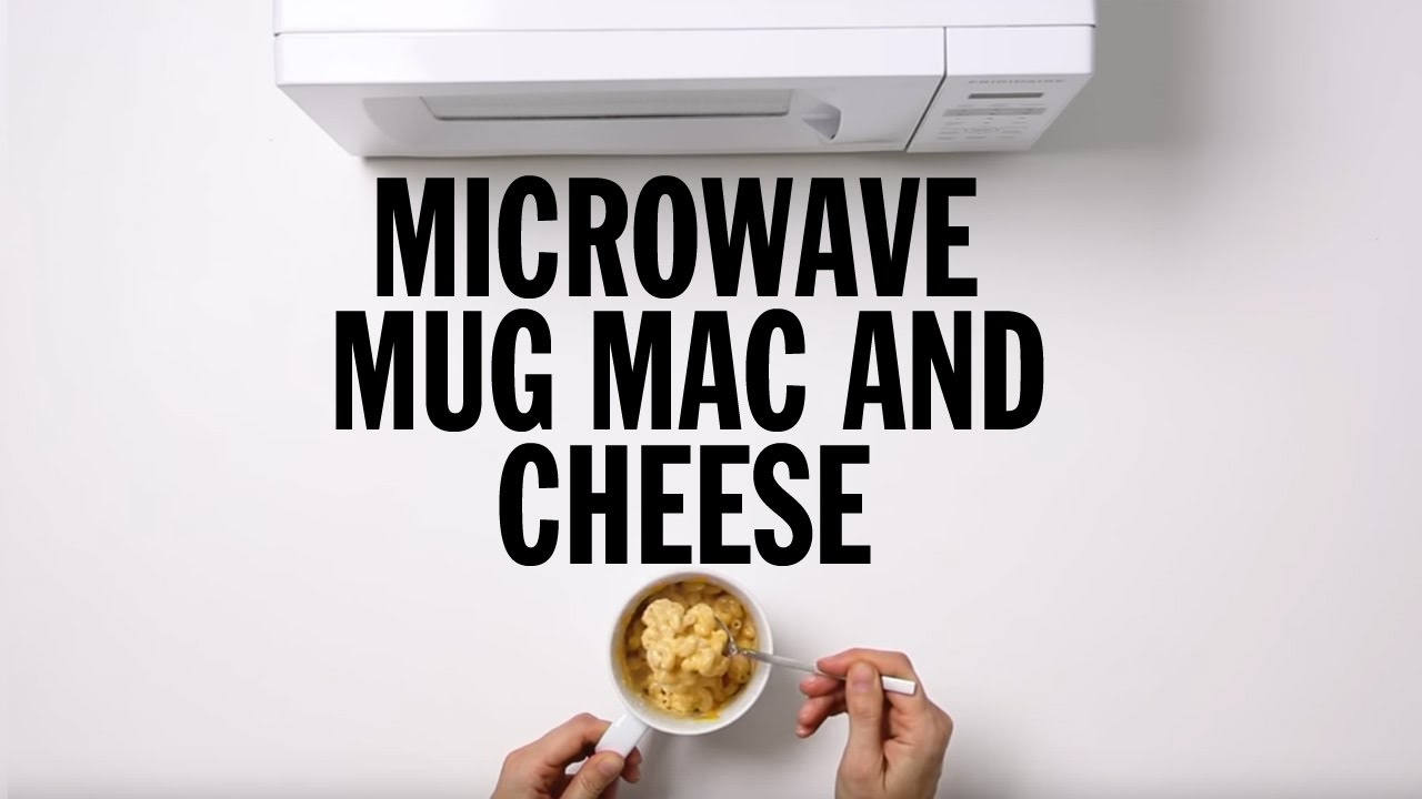 how to make microwave mug macaroni and cheese food network