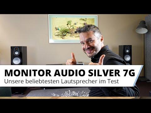 Die neue MonitorAudio Silver 7G Lautsprecher Serie  im Test
