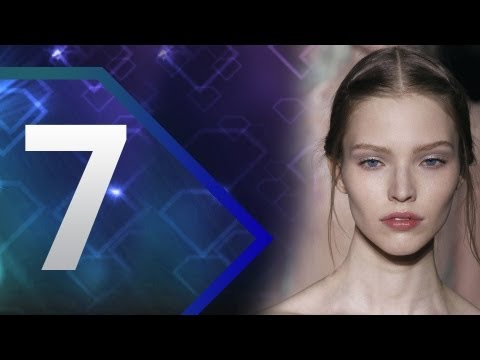 First Face - #7 Sasha Luss - Fall/Winter 2013-14 | Top 10 Models at Fashion Week | FashionTV