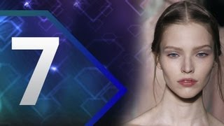 First Face - #7 Sasha Luss - Fall/Winter 2013-14 | Top 10 Models at Fashion Week | FashionTV