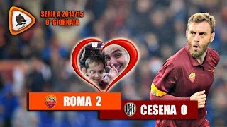 Video Gol Pertandingan AS Roma vs Cesena