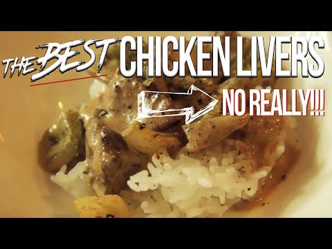 The Best Chicken Livers Recipe - No Really! SAM THE COOKING GUY