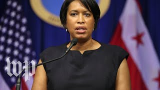 WATCH: D.C. Mayor Bowser holds news conference