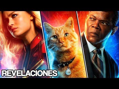 Descarga 10 Nuevos Posters de Capitana Marvel y Detalles de los Personajes