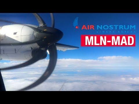 Flight Report | Melilla - Madrid | Air Nostrum ATR 72-600