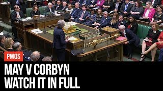May v Corbyn Live - Prime Minister's Questions - LBC