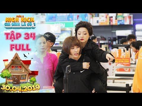 Gia đình là số 1 Phần 2 tập 34 full: Bà Liễu xấu hổ muối mặt vì bất ngờ bị lật tẩy chơi xấu Thám Hoa