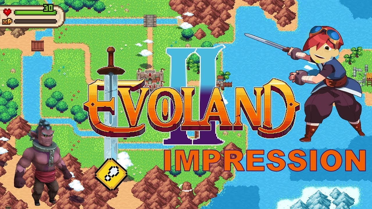 Evoland 2 Android Gameplay Impression (Retro RPG)