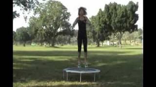איך לעצב ולחזק את הגוף על טרמפולינה