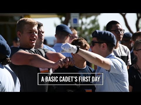 A Basic Cadet's first day: Class of 2022 arrives at Air Force Academy