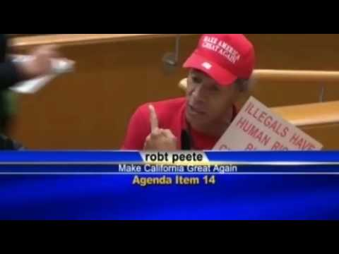 Black Trump Supporter Blasts Sanctuary Cities at L.A. County Council Meeting (FULL/UNCUT)