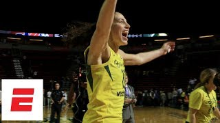 Sue Bird Highlights Of Dominant 4th Quarter To Lead Seattle Storm To WNBA Finals | ESPN