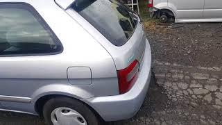 Видео-тест автомобиля Toyota Corolla II (серебро, EL51-0278171, 4E-FE, 1999г.)