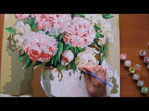 Молли кидс картина по номерам видео уроки