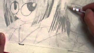 ハヤテのごとくのキャラを描いてみた。 この二人の理由は描きやすかった...