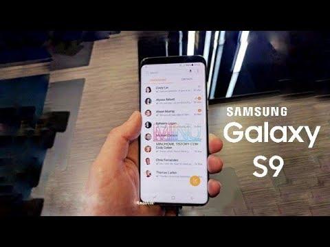 Samsung Galaxy S9 - Latest Live Images & 512 GB of internal storage....