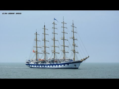 Royal Clipper--The Largest Sailing Ship in the World (drone shooting )